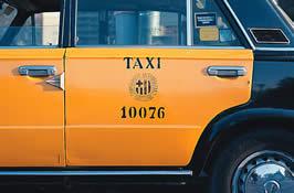 Licencia de Taxi Antigua